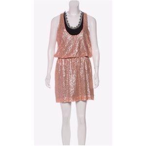 Robert Rodriguez Sequin Silk Mini Dress